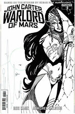 JOHN CARTER WARLORD #3 SEARS B&W 1:10 INCENTIVE VARIANT COVER