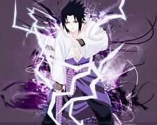 Naruto Sasuke Anime Manga Wall Poster and Decor 16x20 inches