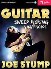 GUITAR SWEEP PICKING & ARPEGGIOS - STUMP, JOE - NEW PAPERBACK