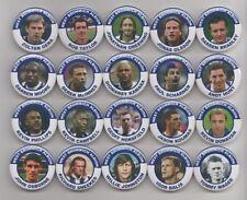 West Bromwich Albion FC leyendas (Set 2) insignias X20 38mm de tamaño, Brom WBA West