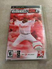 Major League Baseball 2K11 (Sony PSP, 2011) PSP NEW