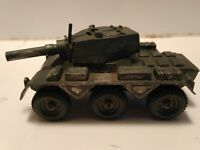 Vintage Toy Tank Unmotorized Tank Made In England 6 Wheels shoots bb's
