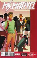 Ms. Marvel Comic Issue 15 Modern Age First Print 2015 Wilson Miyazawa Herring