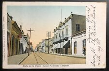 1908 Tampico Mexico Picture Postcard Cover To Cleveland Oh Usa Union Bank Street