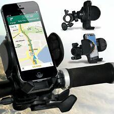Nero ✔ telaio della bici Bicicletta Manubrio Montaggio Supporto Telefono Supporto Titolare Culla
