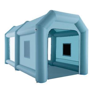 Cabine de Peinture Gonflable 6x3x3M tente gonflable Géante en Tissu Oxford