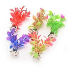 Artificial Aquarium Plant Fish Tank Decor Plastic Grass Decoration Tree Grass