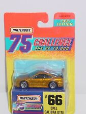 MATCHBOX GOLD 1997 75 CHALLENGE ONE OF 10,000 #66 OPEL CALIBRA DTM