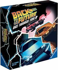 Back To The Future Board Game - Dice Through Time - New 2020 Ravensburger