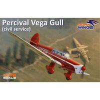 Dora Wings 72002 Percival Vega Gull (civil registration) 1:72 Plastic Model Kit