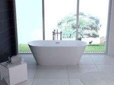 BW-IX018 170x80x60 cm Freistehende Badewanne aus Acryl Wanne mit Ab- / Überlauf