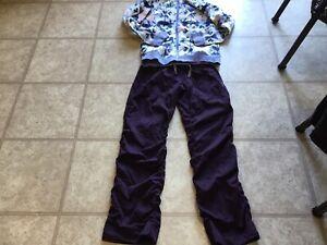 Lululemon Ivivva Lined Purple Studio Pants Size. 12
