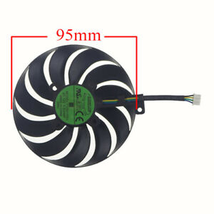 95MM T129215SU 4Pin graphics fan for ASUS ROG Strix GTX 1660S GTX 1650 SUPER