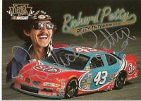 Richard Petty 1997 FLEER ULTRA UPDATE STP #43 PONTIAC signed card FREE SHIPPING*