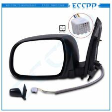 Power Side View Mirror Manual Folding Driver Left LH for 2004-2010 Toyota Sienna
