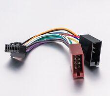 Pioneer ISO Wiring Harness Plug Cable Adaptor AVH-X1750DVD AVH-175DVD