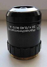 Carl Zeiss PLANACHROMAT HD 20x/0,40 objective microscope JENAVAL