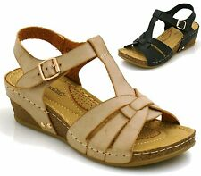 Wedge Beach Synthetic Mules for Women