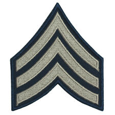 Sergeant Rank Badge - Repro WW2 Military Army Stripes Arm Patch Sgt US American