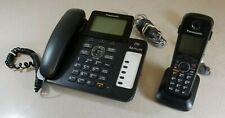 Panasonic KX-TG6671 Corded Desk Phone with Cordless Phone Base and Handset Used