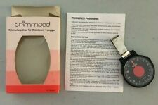 Vtg. Trimmped Pedometer Original Package Hiking, Walking, Jogging West Germany