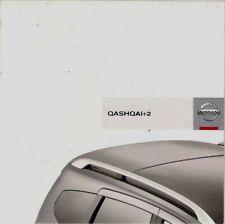 Nissan Qashqai +2 2008 UK Market Launch Foldout Sales Brochure