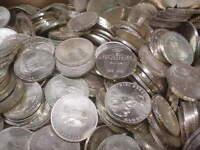 21 x 5 DM Gedenkmünzen Silber , Investorenpaket, Sonderangebot