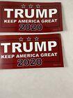 """2 Donald Trump 2020 Magnet """"Trump"""""""