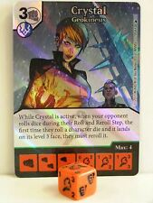 Dice Masters - 1x #059 Crystal Geokinesis Foil - The Mighty Thor