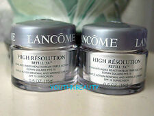 $44 2 x Lancome~High Resolution REFILL-3X Face Cream