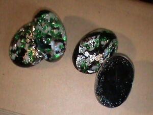 Cose en forma Oval Vidrio Cristal Pedrería Flatback garra Taza Craft granos Lote