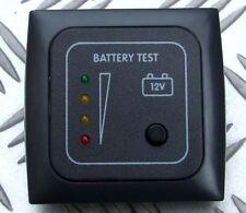 BATTERY LEVEL TEST PANEL INDICATOR & FRAME CARAVAN CAMPER BOAT 12V CBE C-LINE