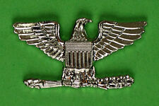 Colonel Rank (right) Large Silver Pin (Navy Captain)