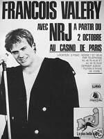 PUBLICITÉ NRJ AVEC FRANÇOIS VALÉRY AU CASINO DE PARIS