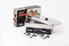 Abu Garcia 2 Burner Steel Smoker - Smoked Fish - Cooking Equipment