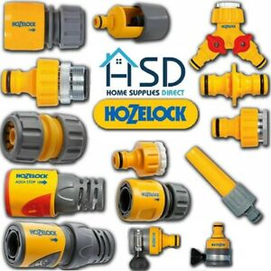 HOZELOCK Quick Connect Outdoor Hose Pipe Tap Connector Garden Hoze Part Fittings