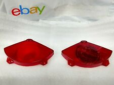 PAIR MK1 CORTINA GENUINE FORD NOS LEFT AND RIGHT REAR LAMP LENS WITH REFLECTOR