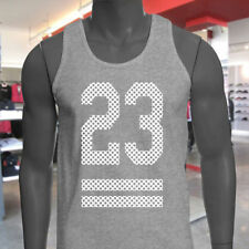 M Solid Regular Size Sleeveless T-Shirts for Men