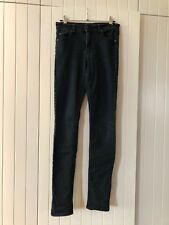 Awesome Black Washed Cheap Monday Skinny Leg Womens Jeans Sz 27
