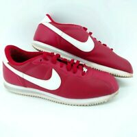 Nike Men's Cortez Basic Leather Gym Red/White 2013 Sneakers (615592-610) Size 11