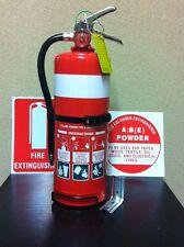 "1 x ""NEW"" 2.5kg Dry Chemical Powder Fire Extinguisher"