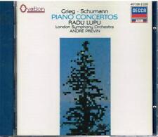 Grieg, Schumann: Concerti Per Pianoforte / Radu Lupu, André Previn. - CD