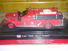 DEL PRADO 1/64 MACK PUMPER FIRE VEHICLE