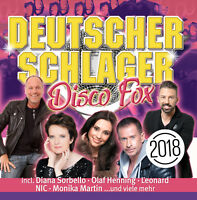 CD Deutscher Schlager Disco Fox 2018 von Various Artists 2CDs