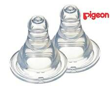 PIGEON Peristaltic SLIM NECK TEAT BPA FREE L teat 2 PK 6months+