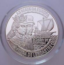Portugal 50 Euro 1996 Silver coin proof Filipa de Lencastre - Asmaes da Europa !