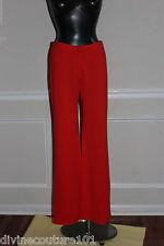 NEW ST.JOHN RED  DRESS PANT SIZE 8  (FLAME)