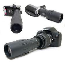 10x 42 1000mm Telescope for Canon EOS Rebel T3i 600D Kiss X5 EF-s 18-55mm Lens