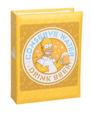 The Simpsons Homer álbum de fotografías para amarillo 100 fotos en 10x15 cm embutir álbum de fotografías