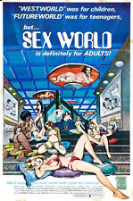 "Sexworld  Movie Poster  Replica 13x19"" Photo Print"